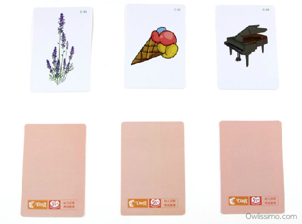 Right Brain Game A+B+C cards