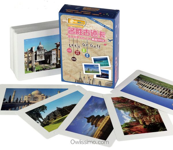 Flash Cards - Historical Places of Interest cards