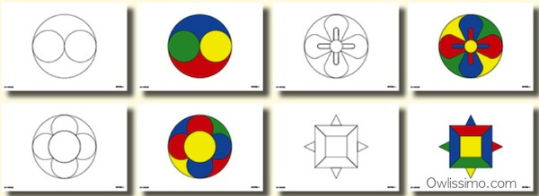 Image : Eye Training : Mandala set (mandala)