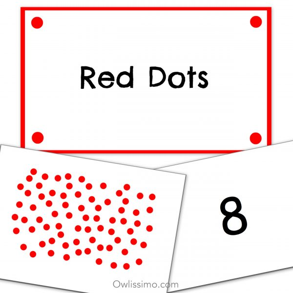 Flashcards - Mathematics Random Red Dots product image