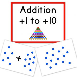 flashcards math addition dots product cover