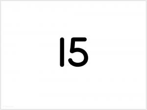 printable flashcards math addition numeral answer