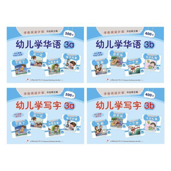 Odonata workbooks learn mandarin write 3 cover